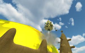 Atterrissage sur Djemter
